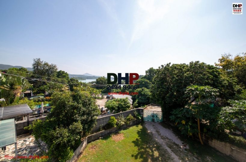Tsam Chuk Wai property Sai Kung Village Houe Huge Fenced Garden Seaview 西貢大網仔大花園獨立村屋