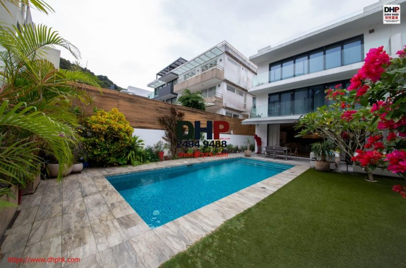 Private Pool Indeed Garden Semi Detached House Ha Yeung Village Clearwater Bay 清水灣下洋村西式裝修開揚景觀私泳入契大花園村屋