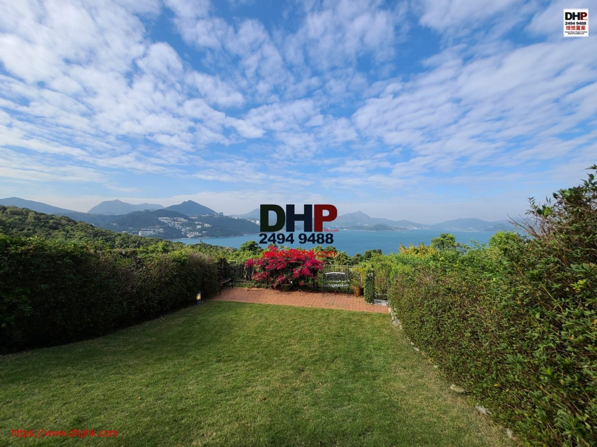 Seaview Villa Clearwater Bay Property Sai Kung with lawn garden